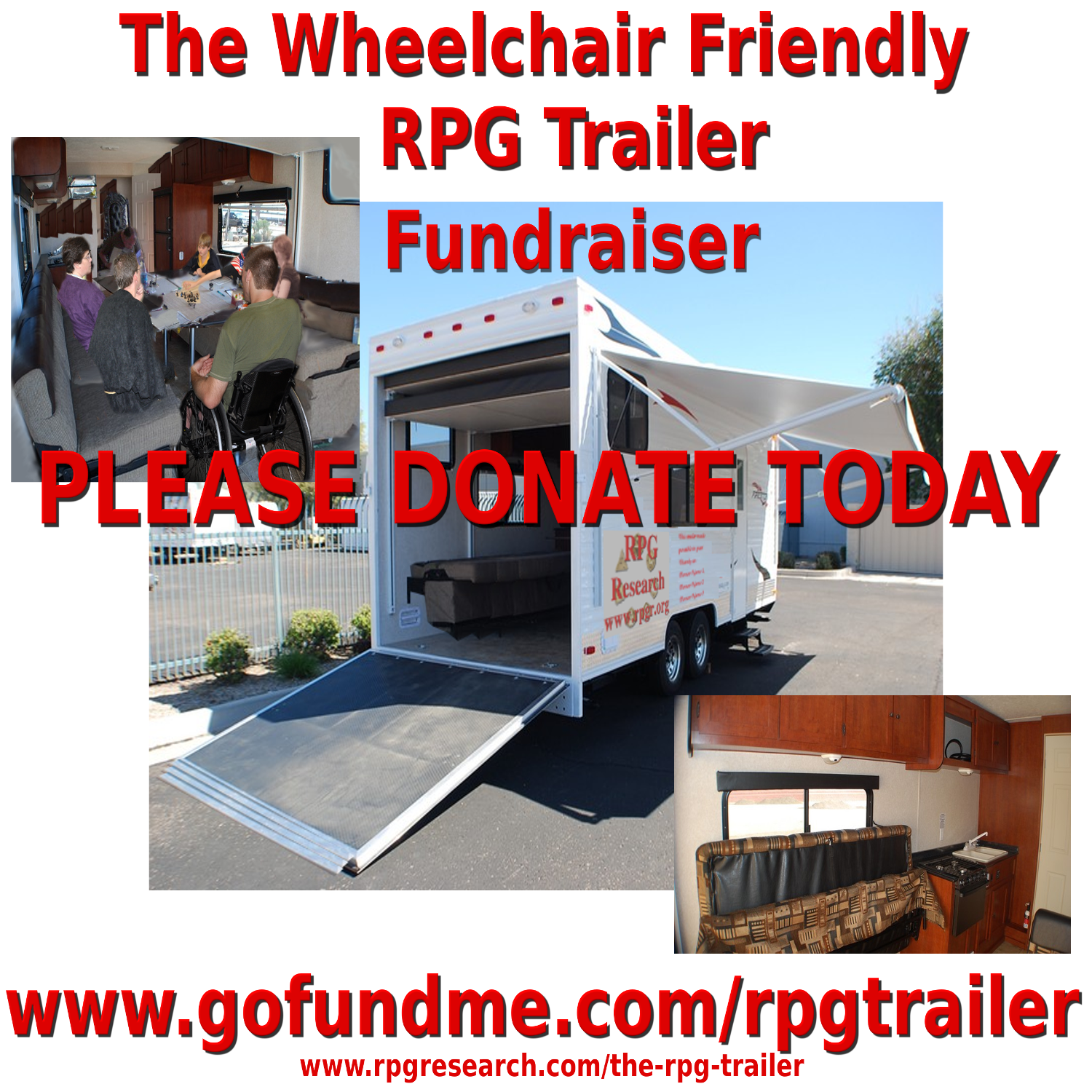 All Music Sales Income Going Toward Building Wheelchair Friendly RPG Trailer