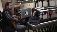 hawke in studio guitar streetwalkin 20160212a