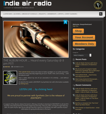 IAR Album Hour Webpage 20160217a cropped