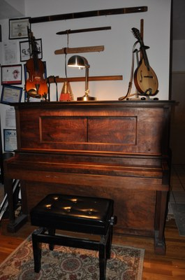 instruments collection piano