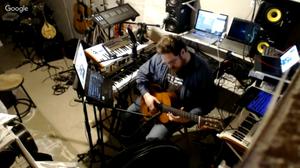 Hawke Synthetic Zen Hangout Studio Broadcast Guitar 20160303a