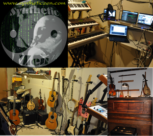Synthetic Zen Logo and instruments Website Banner 20151101a squarish 800x711x300